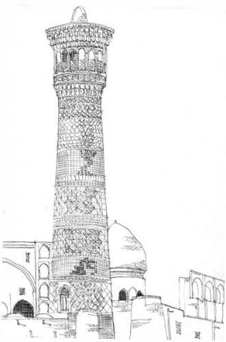 Bouhara minaret